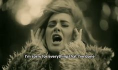 Adele has us missing somebody we don't even know...