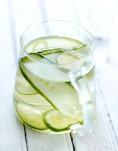 Agua fresca concombre et citron vert pour 4 personnes - Recettes Elle à Table