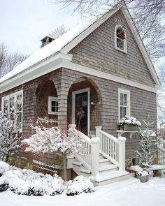 Gorgeous snowy exterior