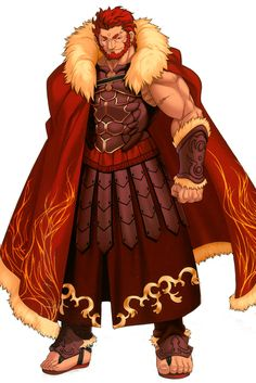 Fate/Zero's version of Alexander the Great.