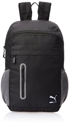 c4767de346 Puma Black and White Casual Backpack (7154301)  Amazon.in  Luggage   Bags