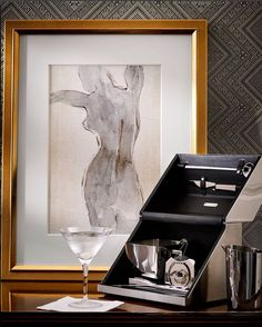 Coming soon, the academy bar tool box. This state of the art set pairs industrial style with luxurious construction. Modern Decor, Modern Art, Fashion Wall Art, Fashion Decor, European Home Decor, Black And White Wall Art, Amazing Decor, Digital Wall, Abstract Wall Art