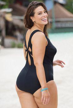 3a9486ba29b Black Niagra Swimsuit Curvy Plus Size, Plus Size Girls, Ashley Graham, Plus  Size
