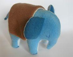Elefante hecho a mano