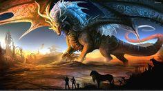 Free Fantasy Art Dragon Fly Hd Wallpaper Wides 1920x1080PX ~ Wallpaper Dragon Art #4936