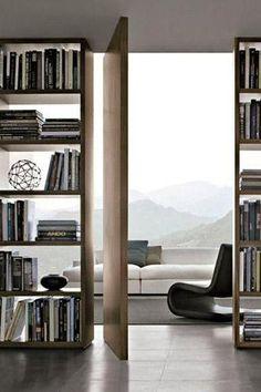 Mueble separador de ambientes