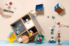 Score one for Portugal. Portuguese design, that is. Porto-based multidisciplinary design studio Epiforma has created Meanwhile Curiosities, a series that second-guesses the functions of typical hom...