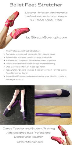"StretchStrength.com - Discover Perfection with Innovative Professional products to help you ""Set Your Talent Free!"" www.StretchStrength.com Dancer Stretches, Ballet Feet, Walking In High Heels, Pointe Shoes, Photographs, Photos, Ballerinas, Stretching, Dancers"