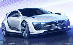 Volkswagen Golf 'GTE Sport' Concept Unveiled with 395 BHP Hybrid Engine