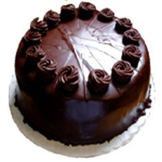 1kg Dark Chocolate Cake EGGLESS