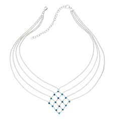 Diamond Lattice Necklace #tenthousandvillages