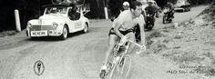 1960 15/7 rit 19 > Gastone Nencini in actie in de tijdrit Pontarlier naar Besançon 83 km (tijdrit wordt gewonnen door de Zwitser Rolf Graf)