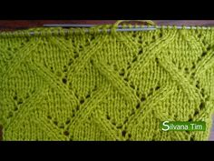 If you know how to do the Tunisian Knit stitch and the Tunisian Purl stitch, you can translate a lot of the simple knit and purl stitch knit designs into a Tunisian crochet design! Knit Purl Stitches, Knitting Stiches, Knitting Videos, Lace Knitting, Knitting Designs, Crochet Designs, Knitting Patterns, Knitting Squares, Afghan Stitch