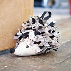 Hedgehog doorstop template - Creativity Issue 48 How cute is this!
