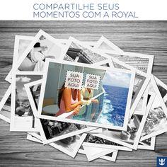 Indique sua foto aqui para ver o seu momento compartilhado com todos os fãs da Royal! Não se esqueça de colocar a data e o navio ou destino em que você estava!