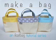 """ikat bag: Make A Bag!"" -- Pinning for future reference!"