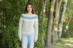 Ravelry: Mystique Yoked Pullover pattern by Susan Mills