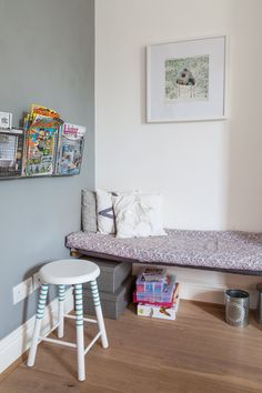 Bonnie & Russell's Scandi-Style Victorian: PAINT & COLORS Farrow and Ball: All White, Dimpse, Manor House Grey, Pavilion Grey and Skylight Fired Earth: Platinum Pale and Gardeners Bothy