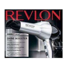 Revlon Perfect Heat 1875W Shine Boosting Hair Dryer, RV484SIL1 (N)