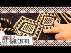 Tutorial # How to Decorate with stones Backpacks Wayuu ~ CTejidas [Crochet and two needles] Tapestry Crochet, Knit Crochet, Purse Patterns, Crochet Patterns, Make Tutorial, Crochet Handbags, Crochet Bags, Embroidery Stitches, Aztec