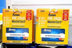 Cartões podem ser encontrados em gôndolas de supermercados (Foto: Divulgação)