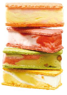 sandwichs glacés - Pierre Hermé Wow! If those taste as good as they look....