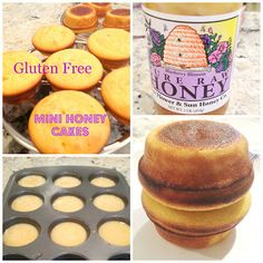 Fast and Fabulous  GF mini honey cakes Gluten Free A-Z Blog. Gonna try this with Flax meal as a (partial) egg replacement :)