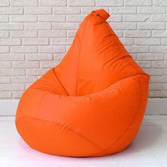 """Кресло-мешок """"БинБег"""", L, оранжевый в каталоге пуфов"""