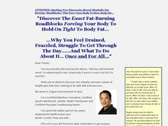 Metabolism Makeover - Breakthrough Weight Loss Plateaus Review  Get Full Review : http://scamereviews.typepad.com/blog/2013/02/metabolism-makeover-breakthrough-weight-loss-plateaus-get-for-free.html