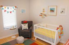 Harper's Modern, Colorful Nursery | Project Nursery