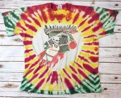 True Vintage Lithuania Basketball 1992 Tie-Dye T-Shirt XL Greg Speirs Skeleton    eBay