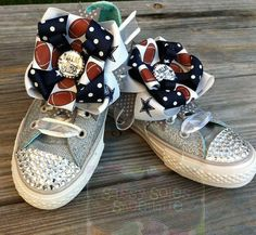 Items similar to Dallas Cowboys Customized Bling Converse on Etsy Bling Converse, Kids Converse, Babys, Kids Fashion, Espadrilles, Baby Shoes, Projects To Try, Sandals, Trending Outfits