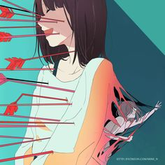 96 dark illustrations on the traverses of our society - # .- 96 dunkle Illustrationen auf den Travern unserer Gesellschaft – 96 dark illustrations on the traverses of our … - Dark Art Illustrations, Illustration Art, Sun Projects, Anime Triste, Sad Drawings, Vent Art, Arte Obscura, Dark Pictures, Dark Pics