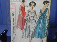 Simplicity 1866 ~ eBay auction from atticcon ended July 29 2012 ~ winning bid was $80.00