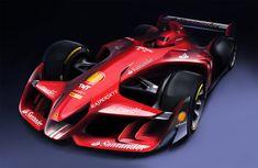 Ferrari Future F1 car