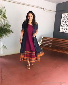 Dress Indian Style, Indian Fashion Dresses, Indian Designer Outfits, Designer Dresses, Stylish Dresses For Girls, Stylish Dress Designs, Designs For Dresses, Long Gown Dress, Sari Dress