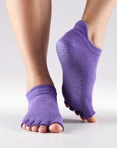 Half Toe Low Rise Grip Socks