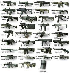 Ninja Weapons, Weapons Guns, Guns And Ammo, Military Gifts, Military Weapons, Armas Wallpaper, Custom Guns, Weapon Concept Art, Assault Rifle