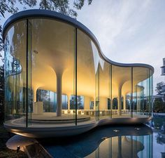 #architecture #interiordesign #wedding #chapel #glass