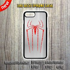 The Amazing Spiderman Logo Apple iPhone 7 / 7 Plus 6/6S 5/5C 4/4S Case Cover via The Best iPhone 7 Case Shop. Click on the image to see more!