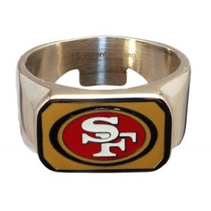 49ers baby!  This is a beer opening ring!  Classic!