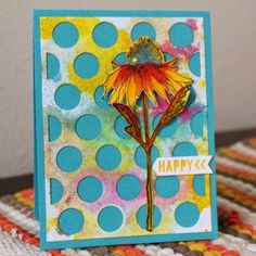 Linda Beeson:  SA Flower Garden Stamp