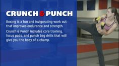 Crunch and Punch Spring #LLBFitness