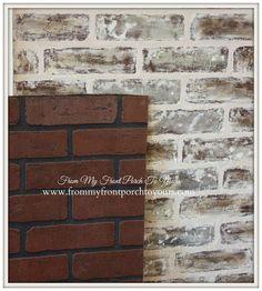 Diy Faux Brick Wall Reveal