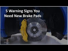 5 Warning Signs You Car Needs New Brake Pads - YouTube Brake System, Warning Signs, Brake Pads, Car, Youtube, Vehicle, Ideas, Automobile, Thoughts