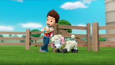 A Pup in Sheep's Clothing/Gallery Ryder Paw Patrol, Los Paw Patrol, Paw Patrol Pups, Cartoon Tv Shows, 101 Dalmatians, My Images, Sheep, Gallery, Anime