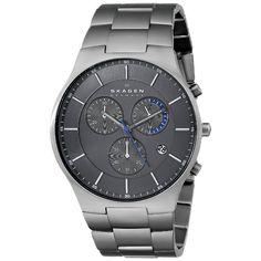 Skagen Men's SKW6077 Balder Chronograph Titanium Watch
