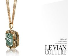I LOVE this green color, LeVian Pendant