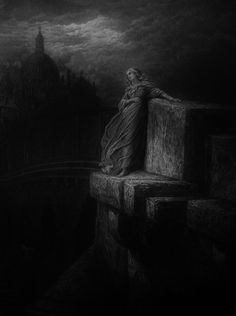 Gustave Dore The Bridge of Sighs,1878