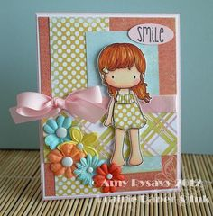 Summer Card Series Card 1 by AmyR of Prairie Paper & Ink